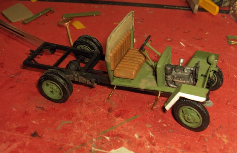 Camion Russe GAZ-MM de 1943 Zvezda 1/35 - Page 2 567221HPIM1771