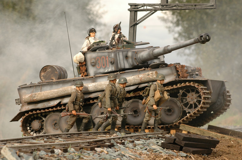 Figurines 1/6 615456tigre_rail