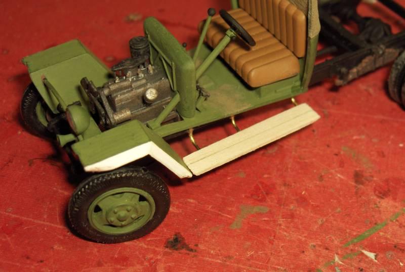 Camion Russe GAZ-MM de 1943 Zvezda 1/35 - Page 2 711299HPIM1764