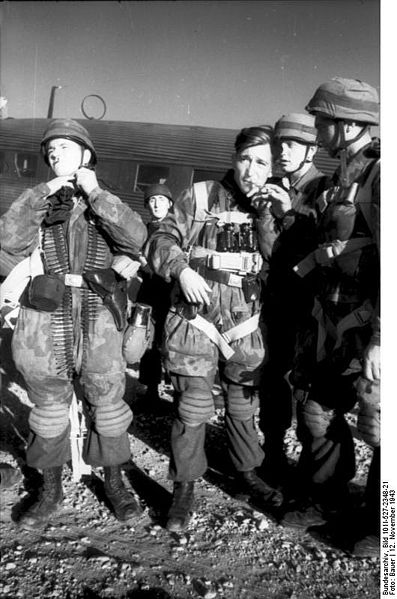 Les fallschirmjager en photos; I 822238dd