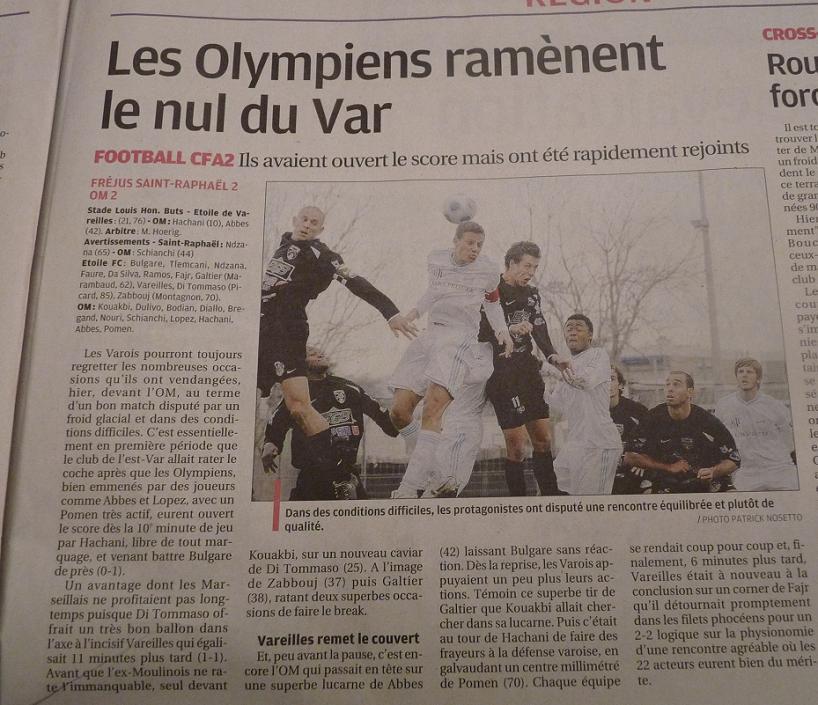 MATCHS DE LA RESERVE OLYMPIENNE - Page 2 854722P1030981