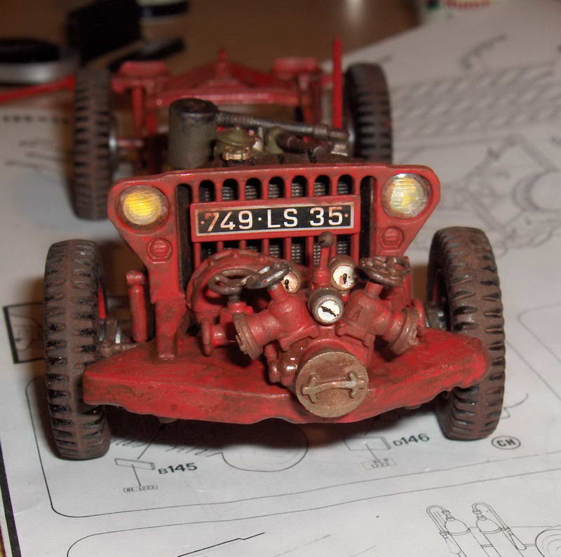Fire Jeep 1/24 Italeri 862831HPIM0760