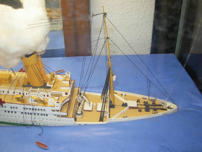 HMHS Britannic ACADEMY 1/400 901209DSCN0316