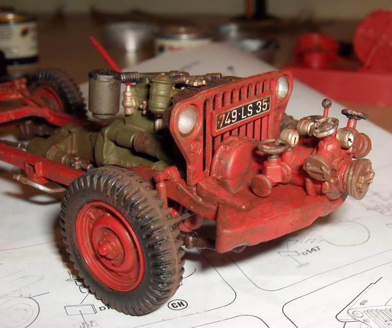 Fire Jeep 1/24 Italeri 980115HPIM0761