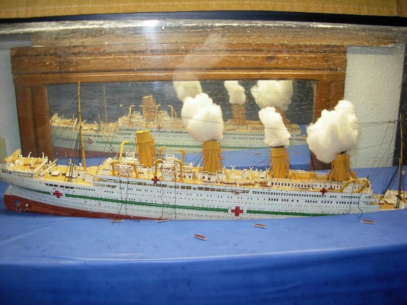 HMHS Britannic ACADEMY 1/400 998673DSCN0313