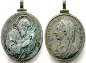S. Pedro de Alcántara / S. Francisco de Asís - Alberto Hamerani (R.M. SXVII-O) Hameranigiovanimartinof