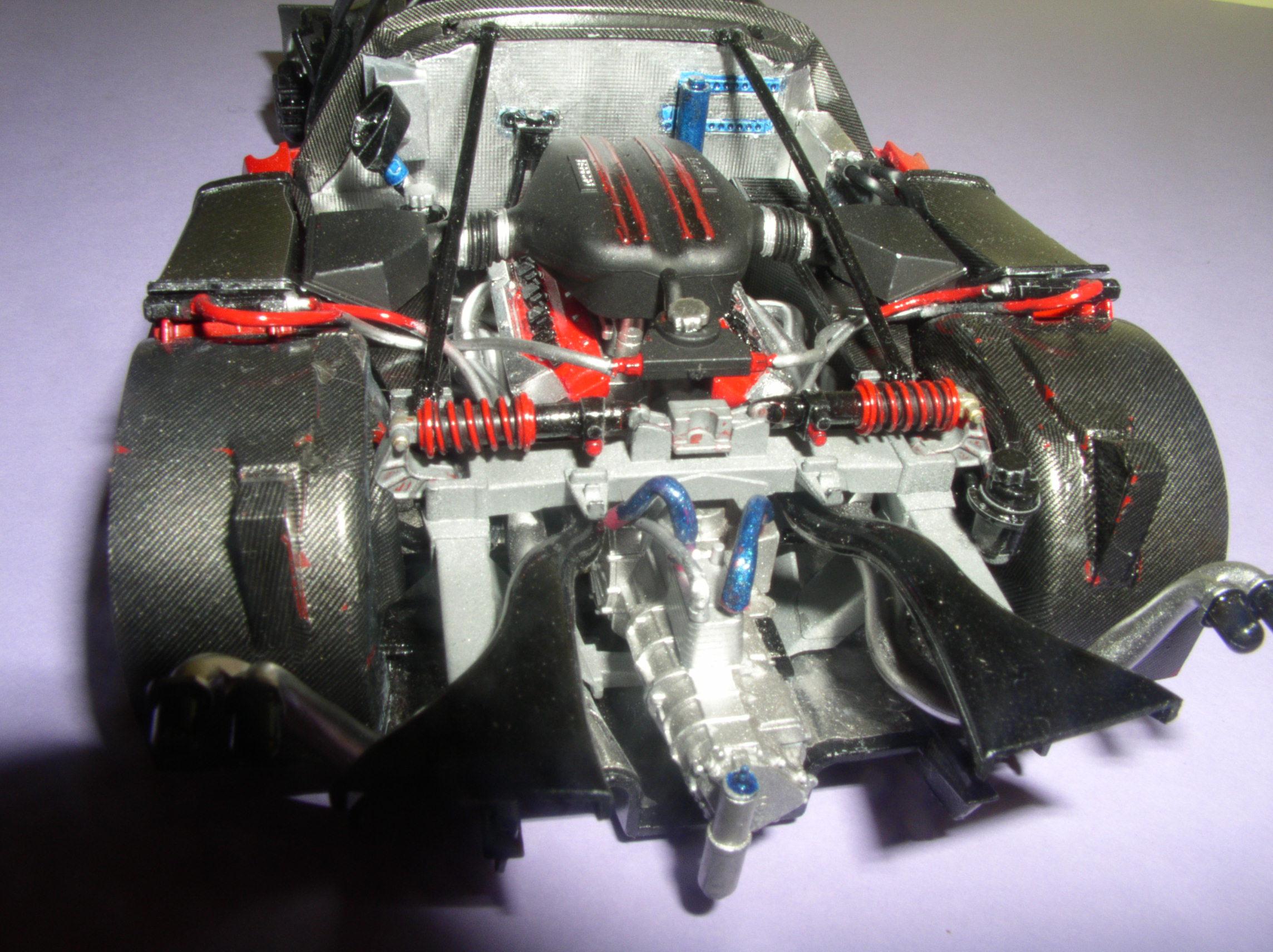 Ferrari FXX ...Tamiya 1/24... Reprise du montage !!!!!! Fxx9