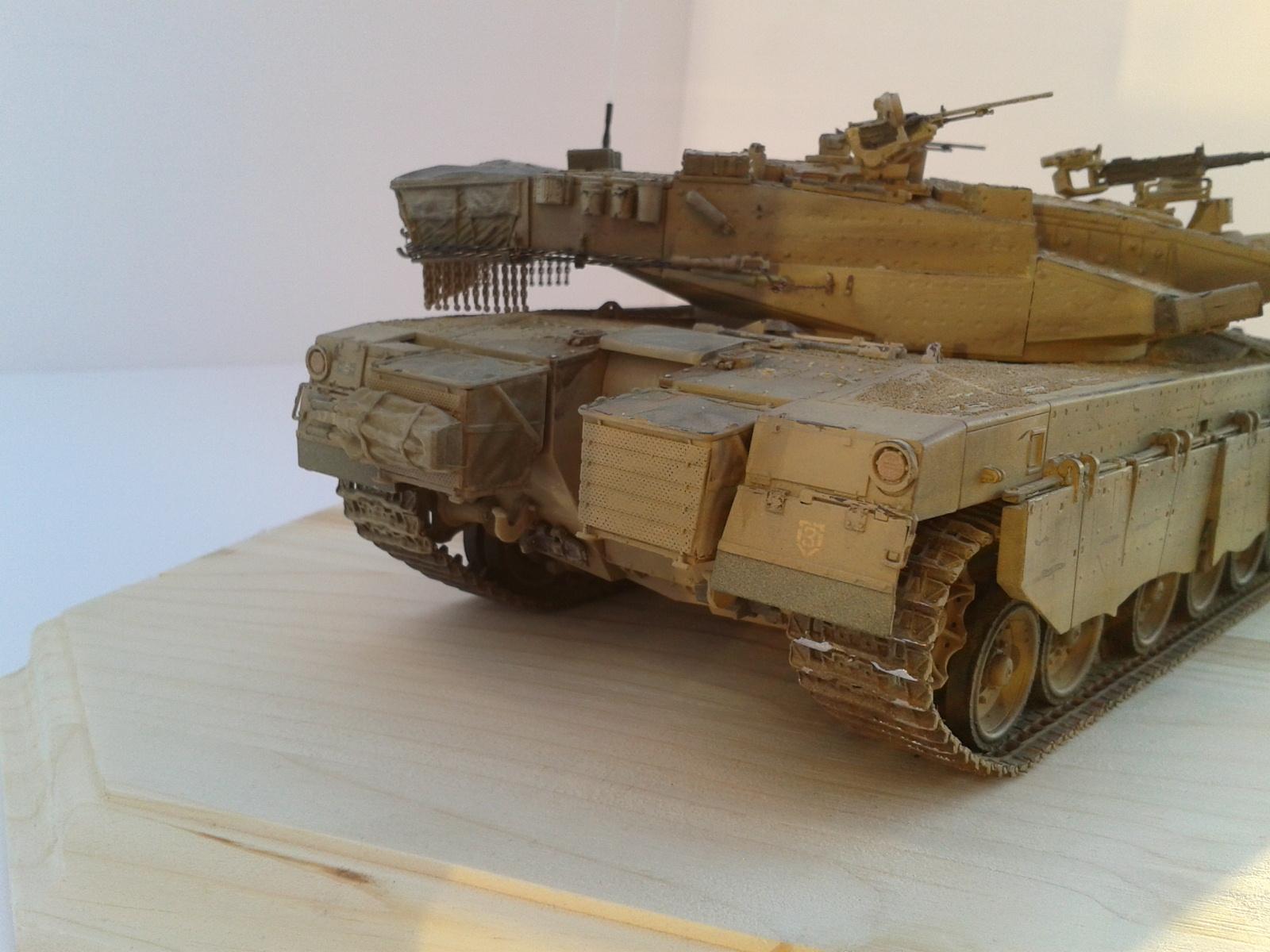Merkava Mk.3 BAZ w/Nochri Dallet Mine Roller System Meng 1/35....Terminé !!!!! Z9vv