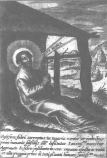 S. Romualdo / Muerte de S. Francisco Javier - Hamerani fechada (R.M. S.XVII-O191) Grabdoprimero1