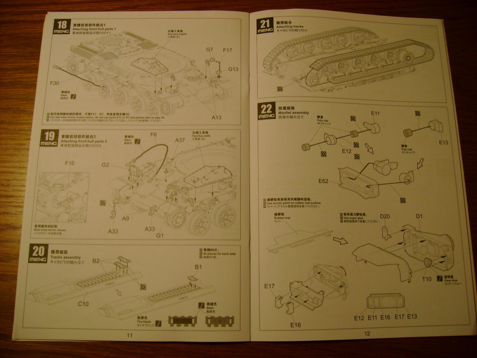 Review Kit AMX-30 B par Meng au 1/35.... Dsc03320ky
