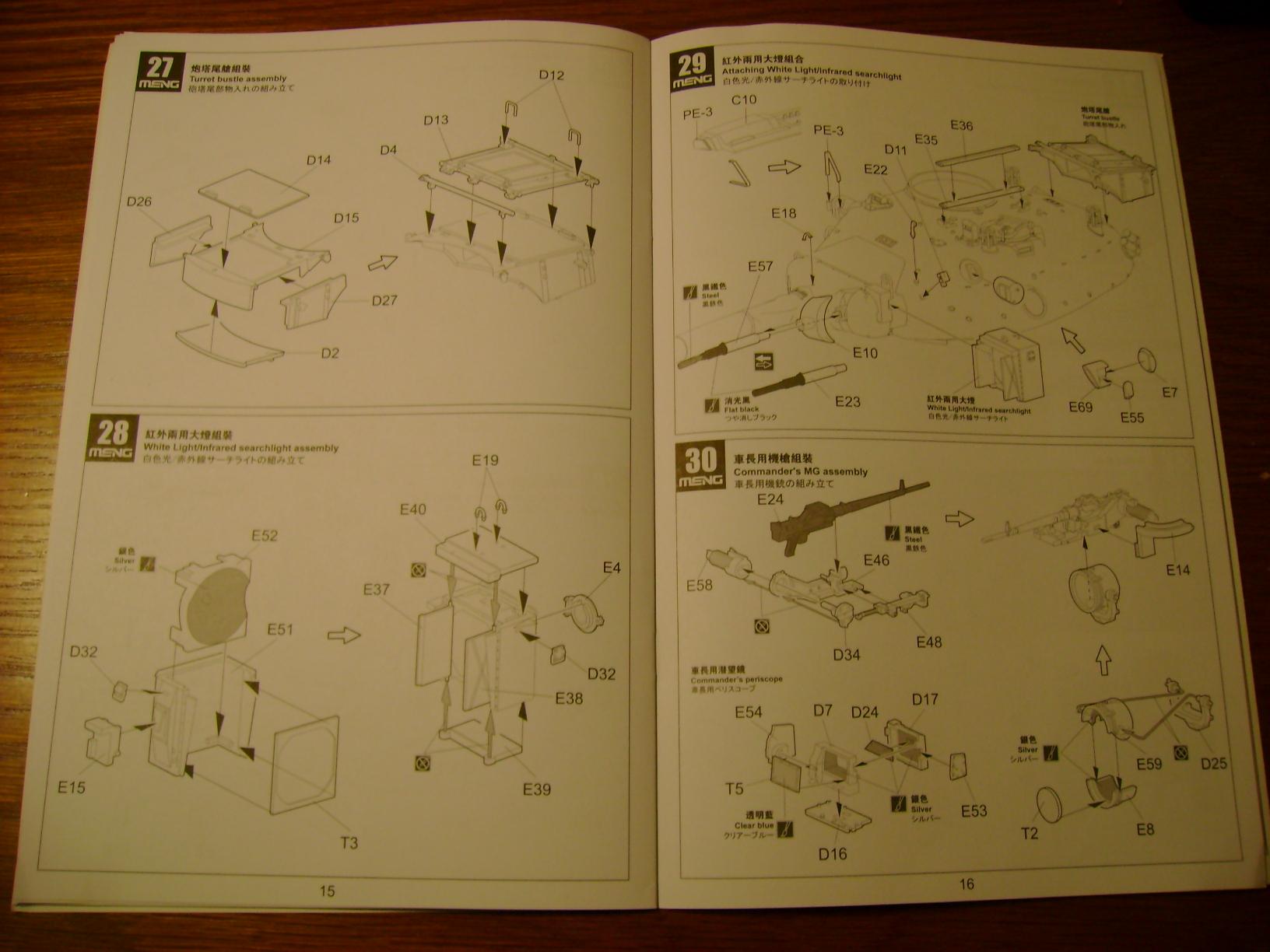 Review Kit AMX-30 B par Meng au 1/35.... Dsc03322oi