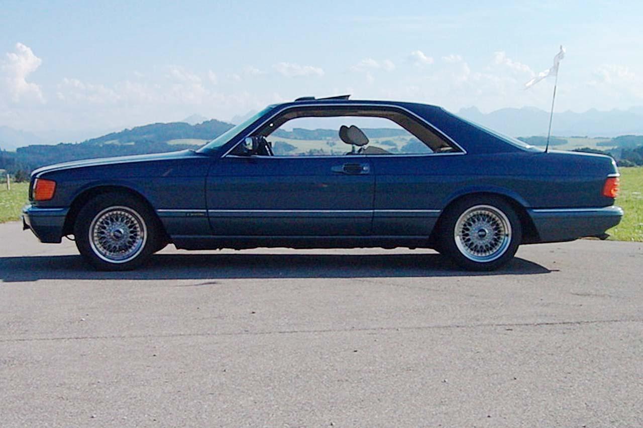 (C126): 560SEC Azul com interior Bege - Fotos 560sec300ps902214331563