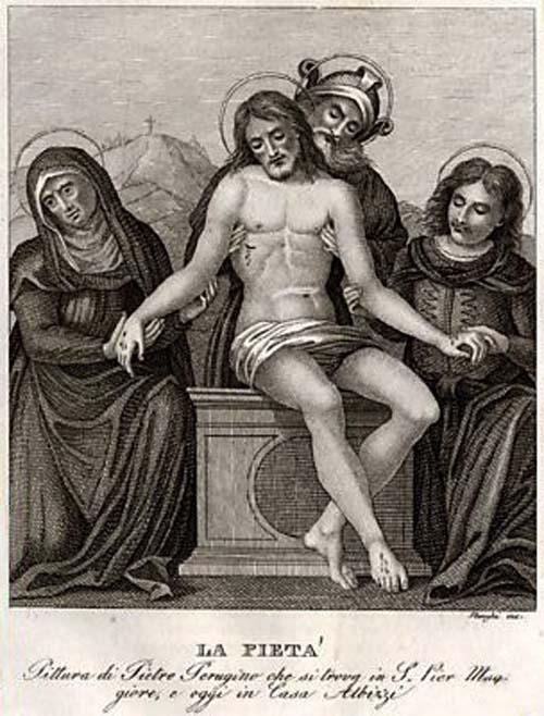 San Carlos Borromeo / Cristo de piedad  - MR(075) Pietajx