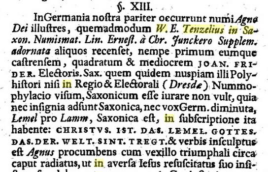 Medalla de Cristo Resucitado / Agnus Dei - s. XVI -1555- MR(250) (R.M. SXVI-Ot2 Agnusdei01