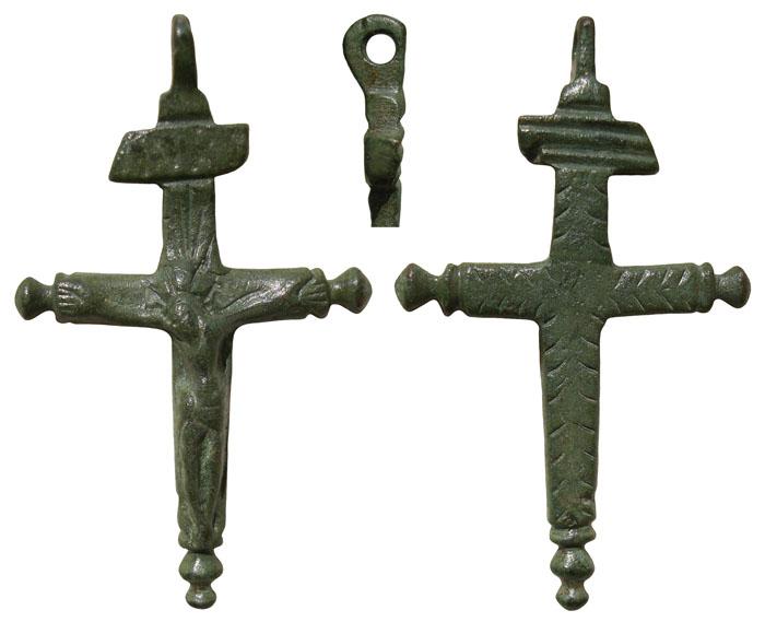 Crucifijo con pezuelos - CC063 Cc063a