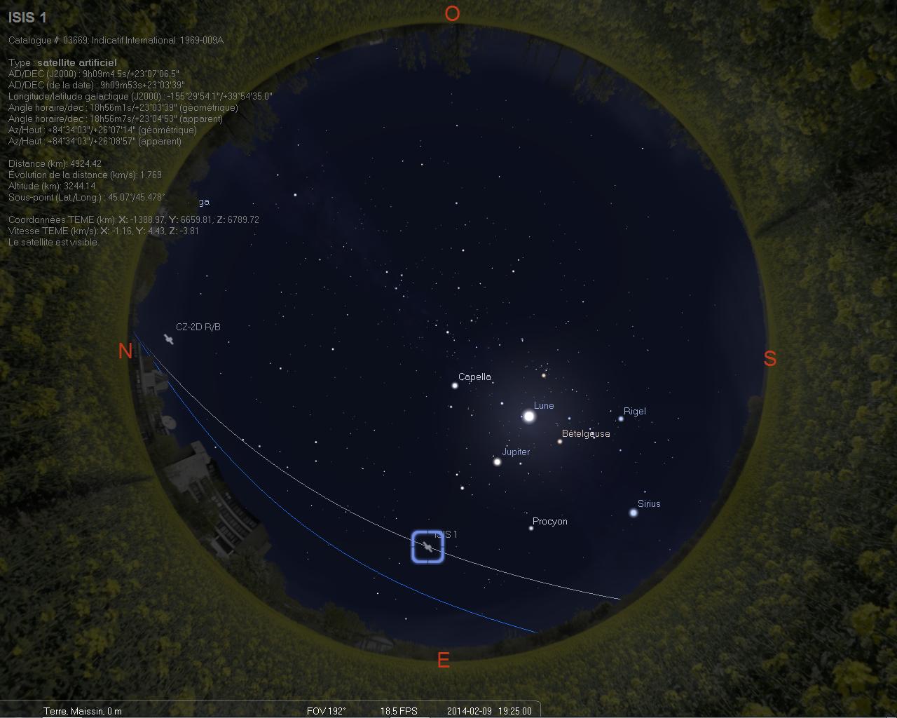 2014: le 09/02 à 19h25 - Boules lumineuses - Maissin - Non précisé G12k