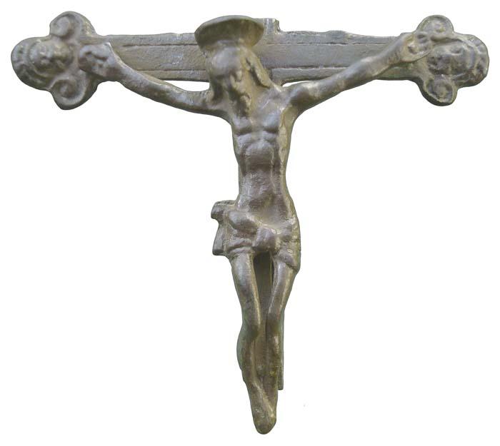 Crucifijo pectoral (fragmento III) - CC-057 Mr057b