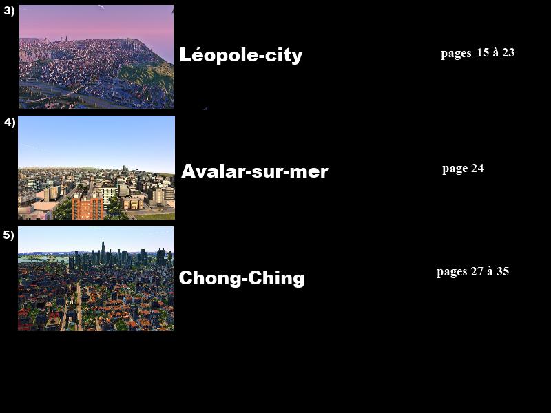 [CXL] Le Sunrise: présentation des villes Vtbl