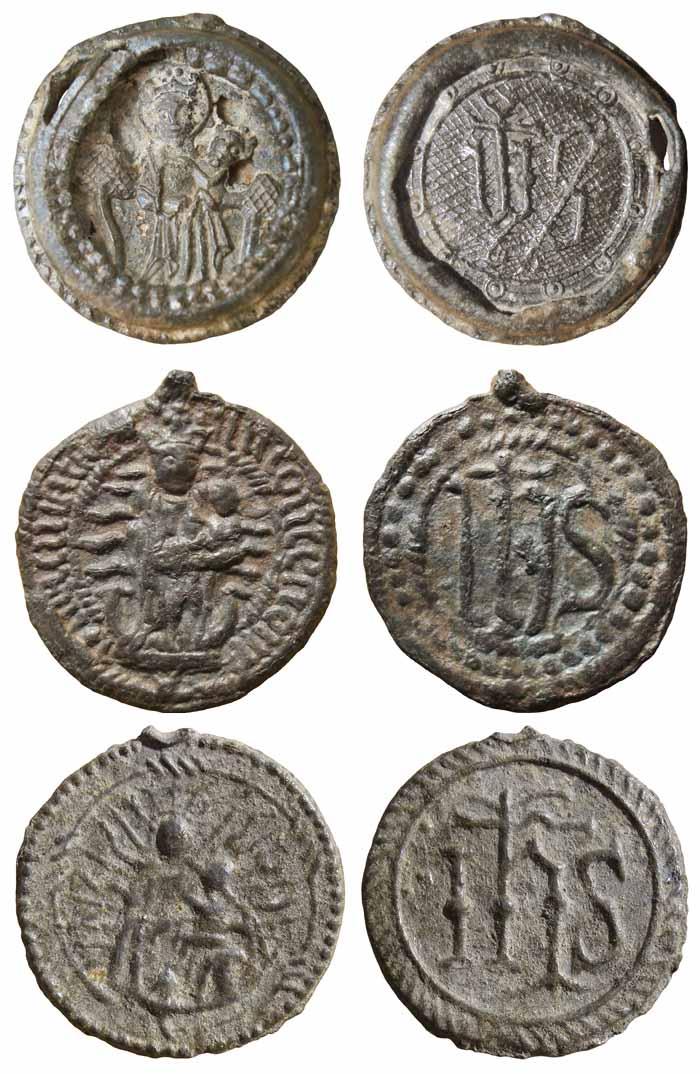 Inmaculada Concepción / IHS - Nomina Sacra - MR(312) Ihsi
