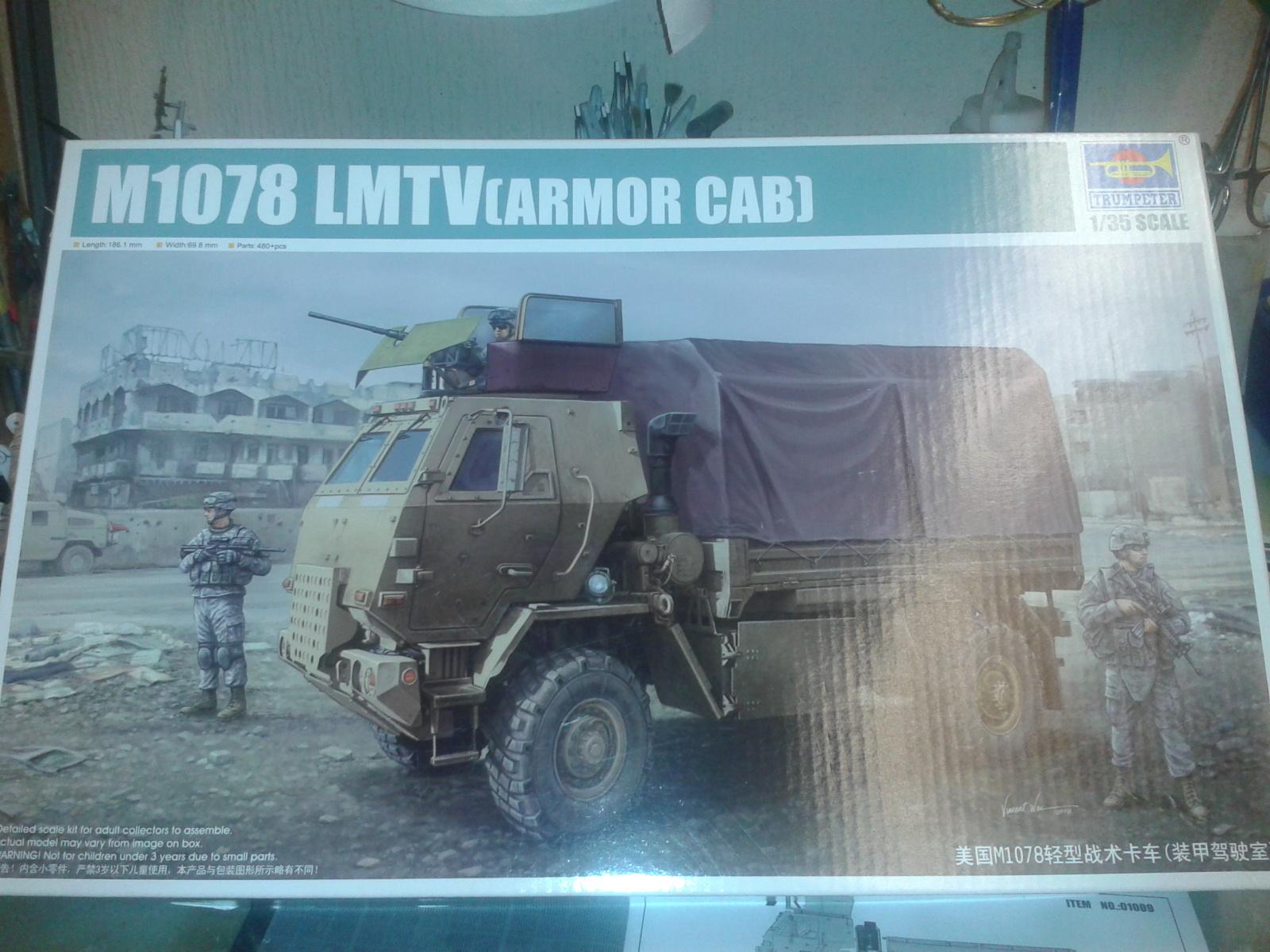 M 1078 LMTV / Armored cab.....( Début de montage)....Up du 03/01... Cwne