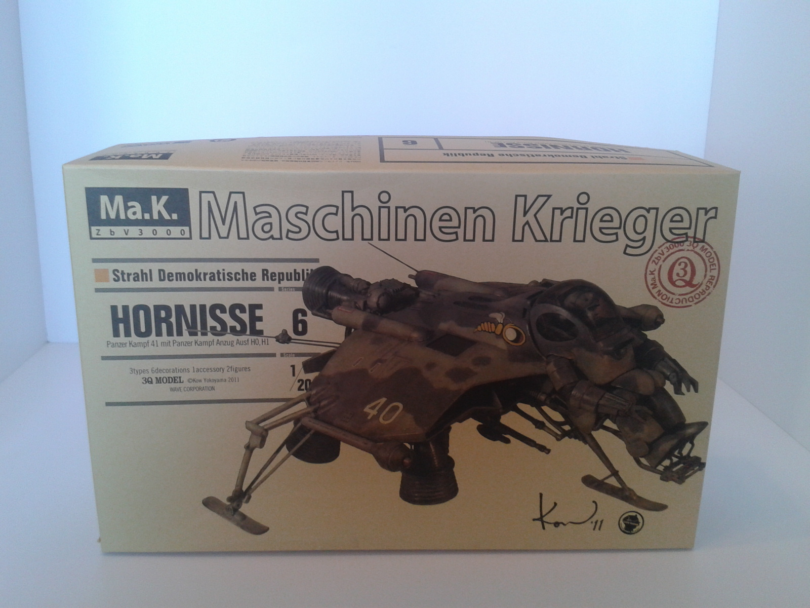 Review kit Ma.k Maschinen Krieger 6.......1/20. Wj3o
