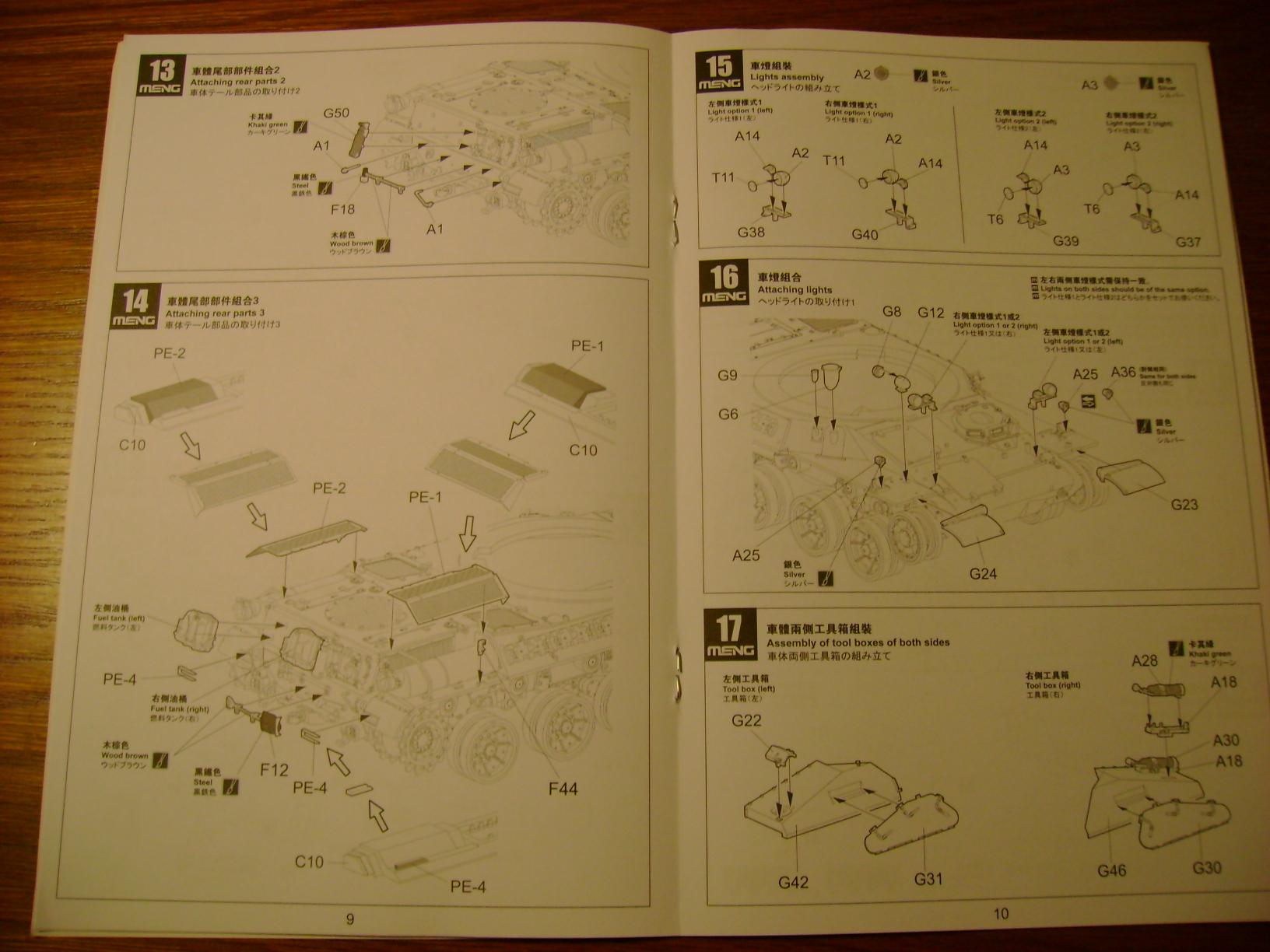 Review Kit AMX-30 B par Meng au 1/35.... Dsc03319fx