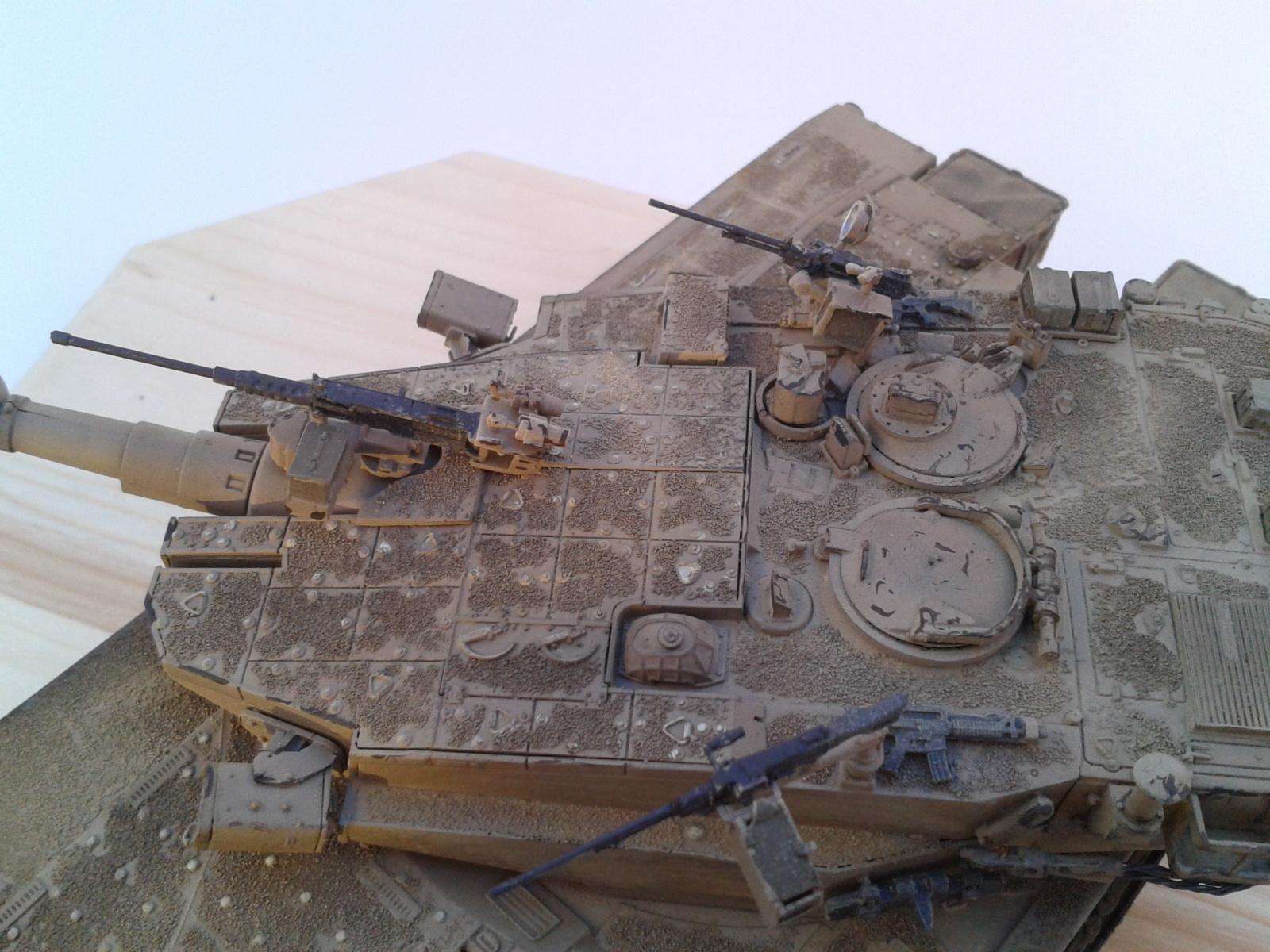 Merkava Mk.3 BAZ w/Nochri Dallet Mine Roller System Meng 1/35....Terminé !!!!! 00ey