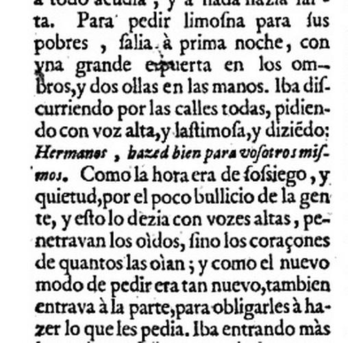 Beato Juan de Dios / Anunciacion -  S. XVII - MR(008) (R.M. Pe Juan de Dios 3) Espuertayollas