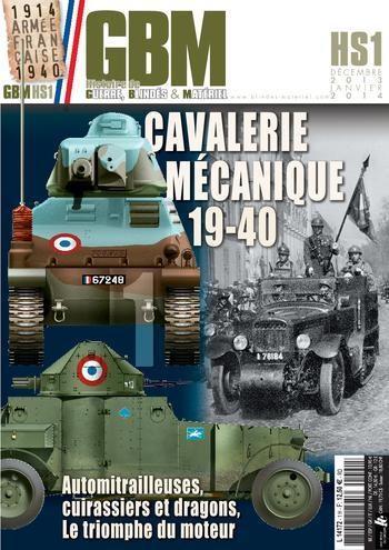 Cavalerie Mécanique 19-40 / HORS SERIE GBM Kwjp