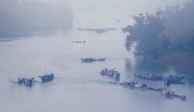 Sương sớm vùng quê Qhqr