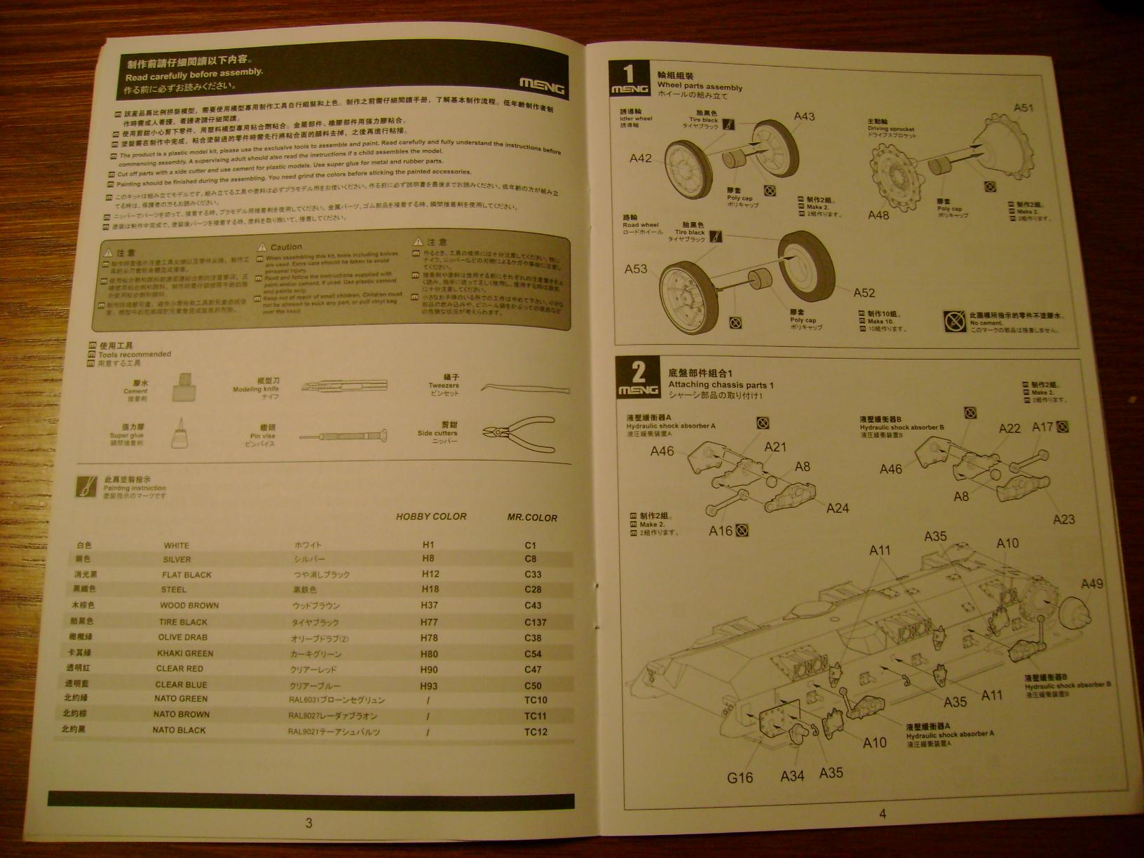 Review Kit AMX-30 B par Meng au 1/35.... Dsc03316xi