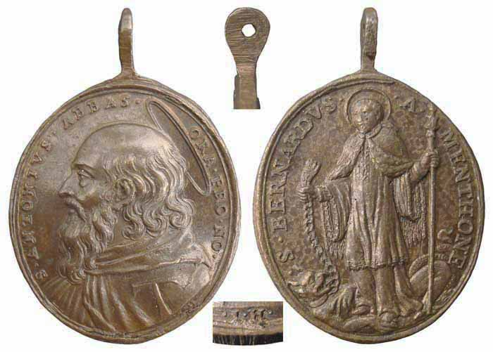 S Antonio Abad / S Bernardo de Aosta-Hamerani- MR(295) (R.M. SXVII-O211) Mr295a