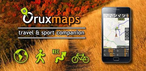 Οrux Maps και Orux Maps 3D beta Orux