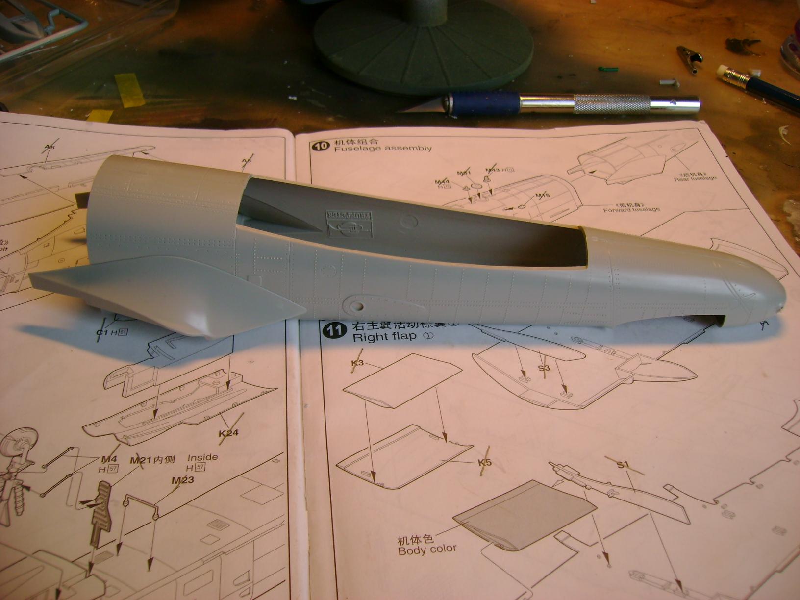 A-10 Thunderbolt II...1/32 Trumpeter + PE Edouard....( T-Bird) Up 02/12.... 75081803