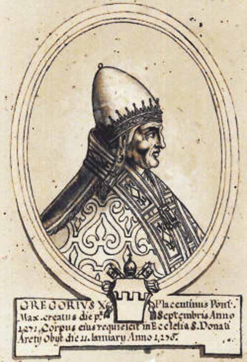 Madonna del Conforto / San Donato de Arezzo y Beato Gregorio X - MR(310) Mr310g