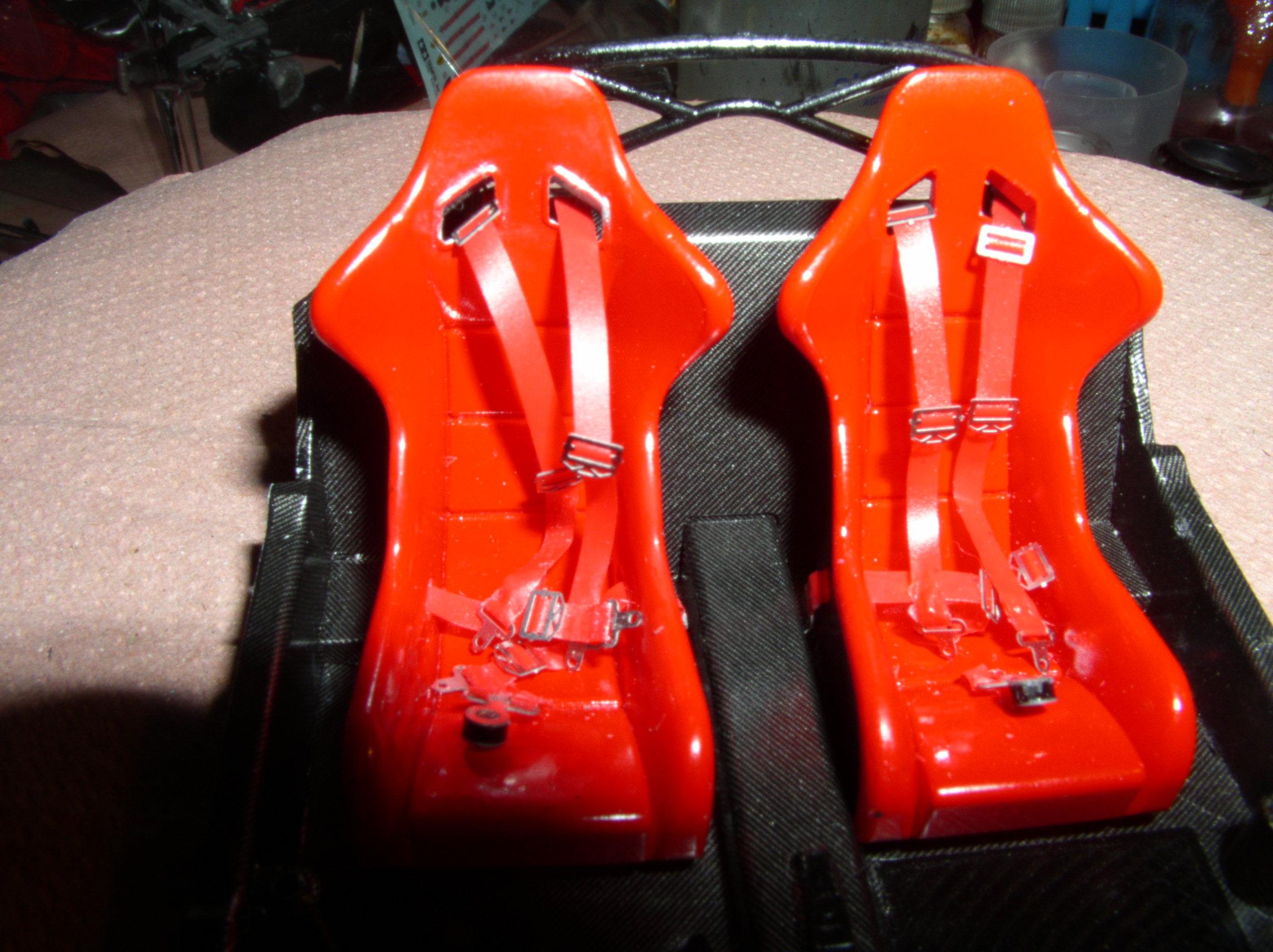 Ferrari FXX ...Tamiya 1/24... Reprise du montage !!!!!! Fxx4g