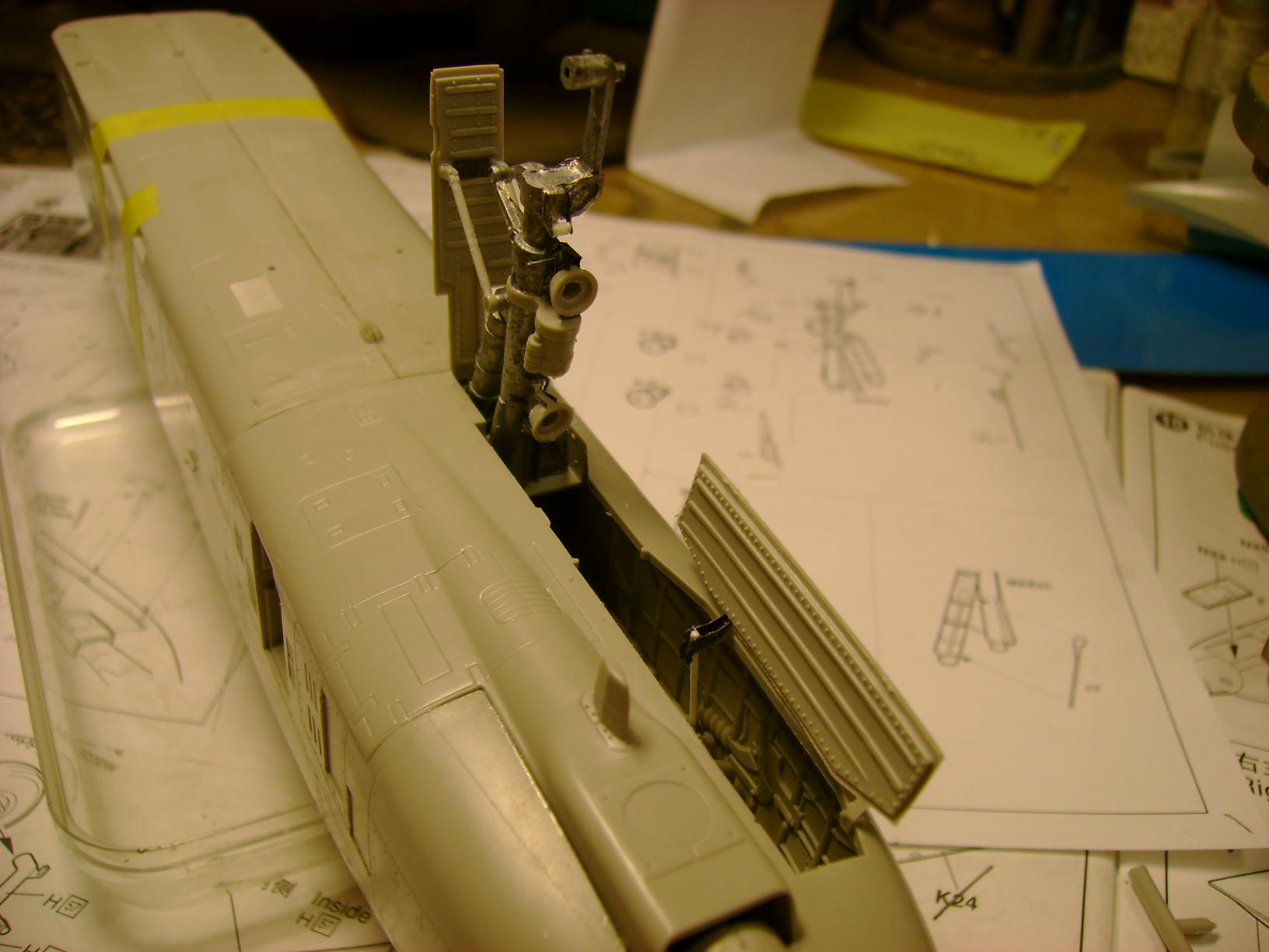 A-10 Thunderbolt II...1/32 Trumpeter + PE Edouard....( T-Bird) Up 02/12.... 87254636