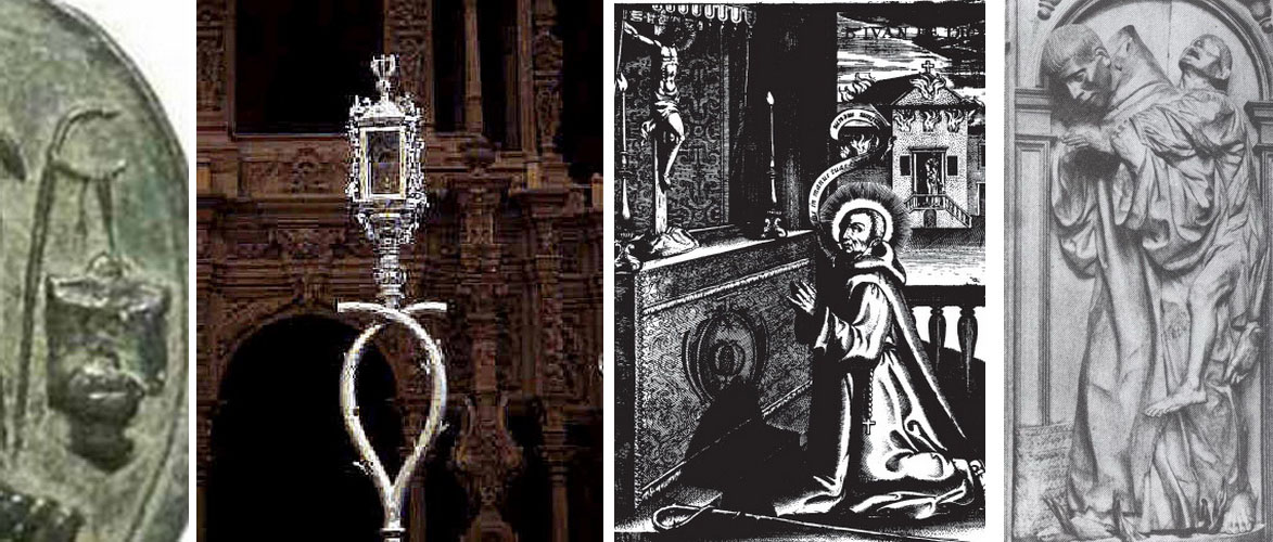Beato Juan de Dios / Anunciacion -  S. XVII - MR(008) (R.M. Pe Juan de Dios 3) 43974346