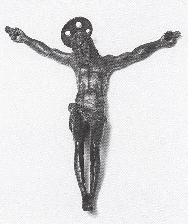 Cristo con el número Crucifijosxvixvii