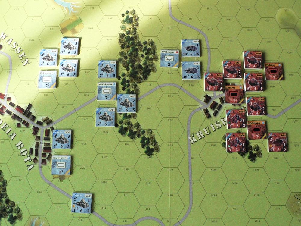 [CR] Blazing chariots : les plaines de feu 4qbg