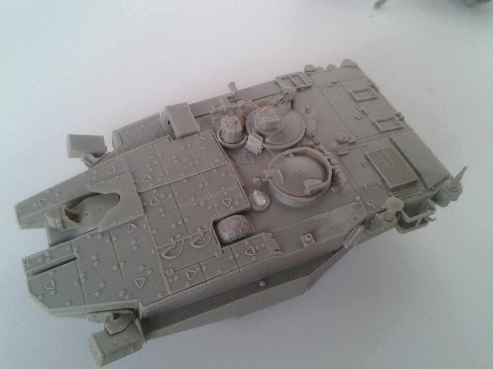 Merkava Mk.3 BAZ w/Nochri Dallet Mine Roller System Meng 1/35....Terminé !!!!! Zeh6