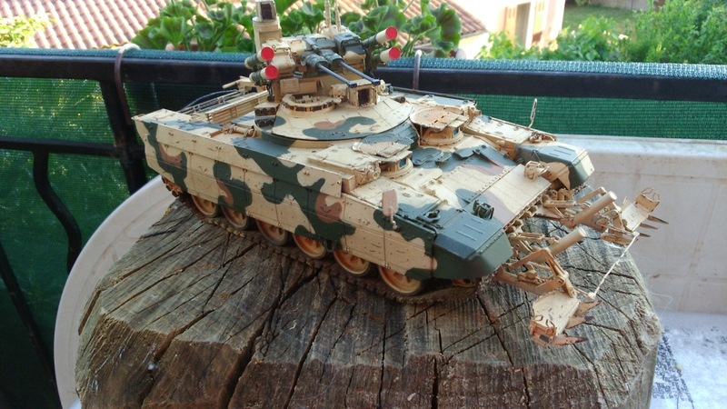 Terminator Fire support BMPT ...Meng 1/35......Fini !!!!!!! OiICCs