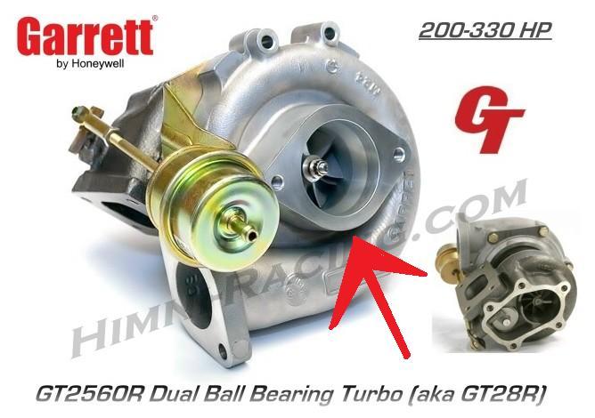 GT2560R Τοποθέτηση σε CA18DET JHD9hG