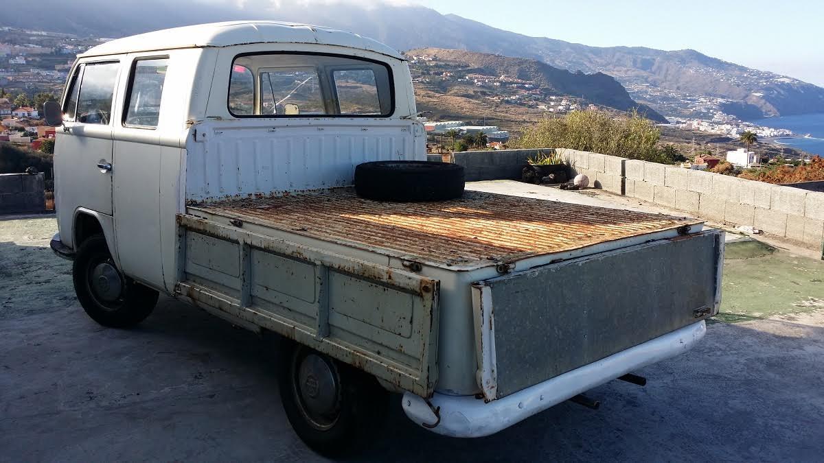 Venta furgo T2 doble cabina YHMcYI