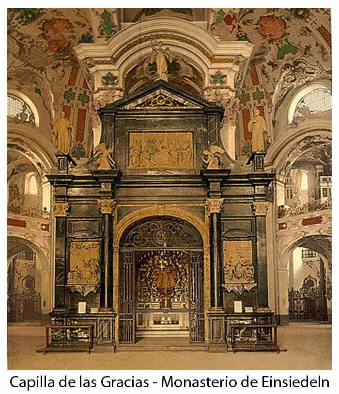 Nuestra Señora de Einsiedeln / Capilla de las Gracias - MR(322) (R.M. SXVIII-C164)(MAM) Emsiedeln1