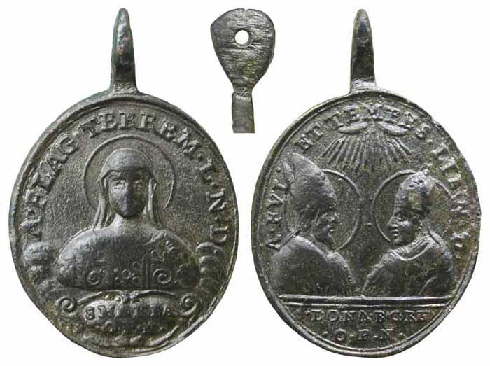 Madonna del Conforto / San Donato de Arezzo y Beato Gregorio X - MR(310) Mr310a