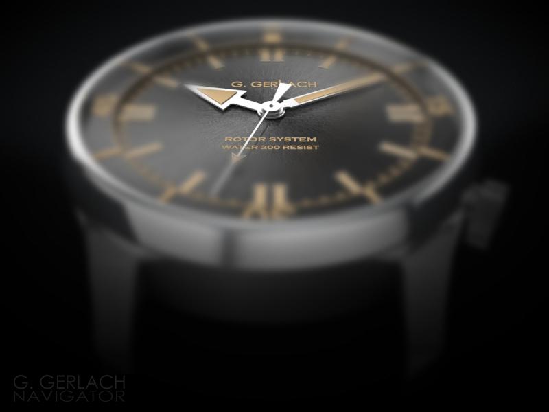 G. Gerlach: la montre polonaise! - Page 2 Nawigator