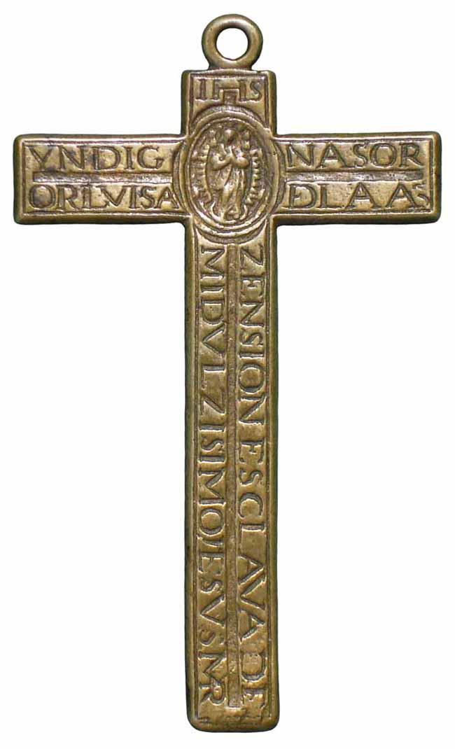 Cruz de la Madre Luisa de la Ascensión  S-XVII - CC-064 - [Pec029/S-XVII] * Z0yu