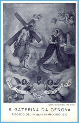 Beata Catalina de Génova / Asunción de la Virgen   (R.M. SXVIII-O146B) Caterina15