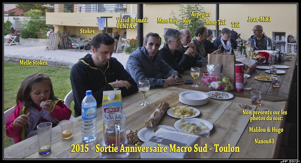 Sortie Anniversaire Toulon - Photos des 5èmes Rencontres Macro du Sud (2015) GWPEnD